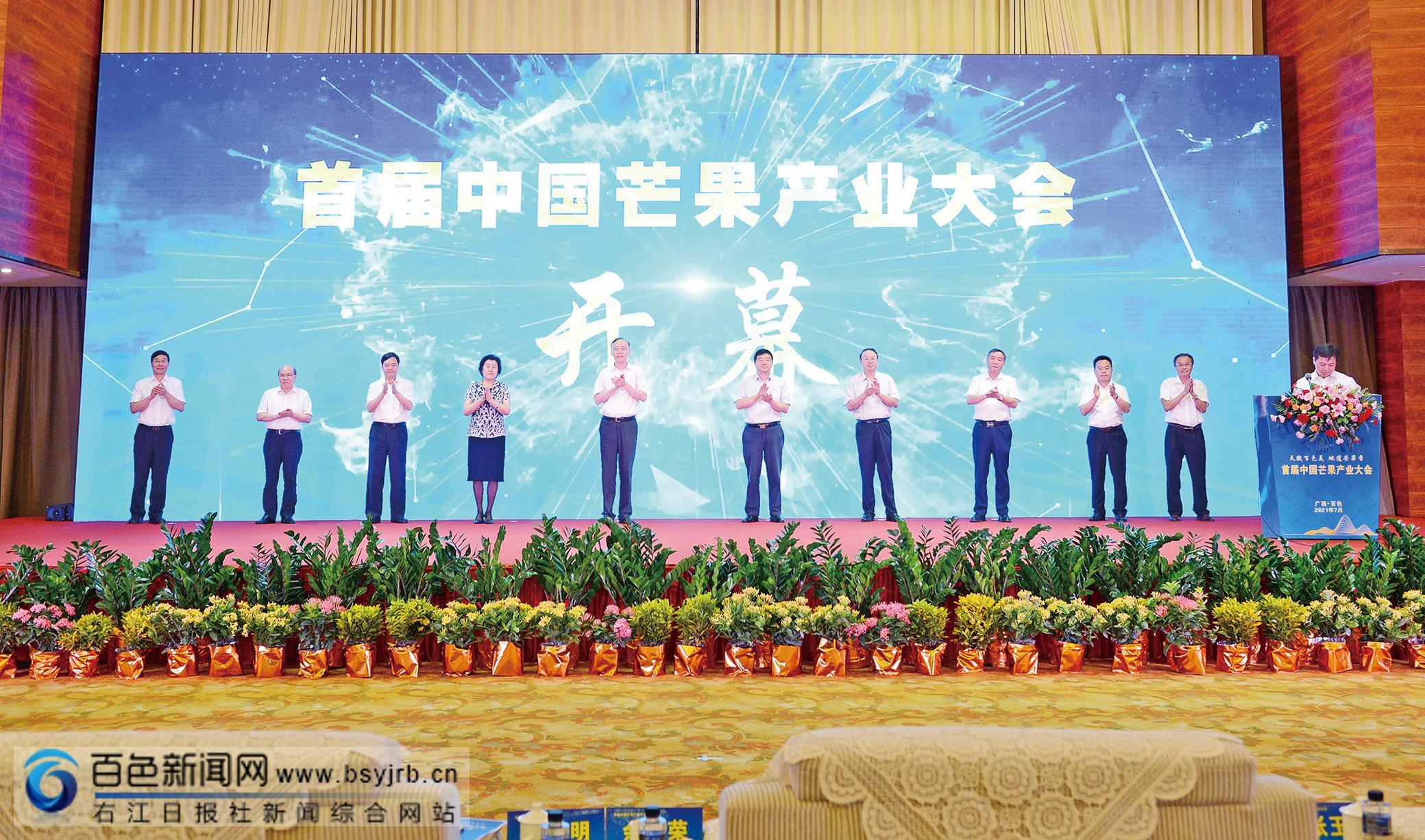 首届中国芒果产业大会在田东举行